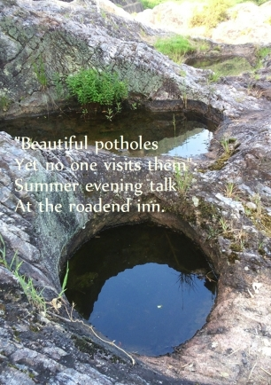 Beautiful potholes tg